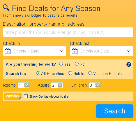Booking.com | click on the picture to be directed to our SEARCH page