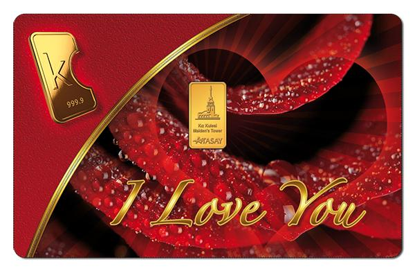 KaratBars | Gold Card - I love You