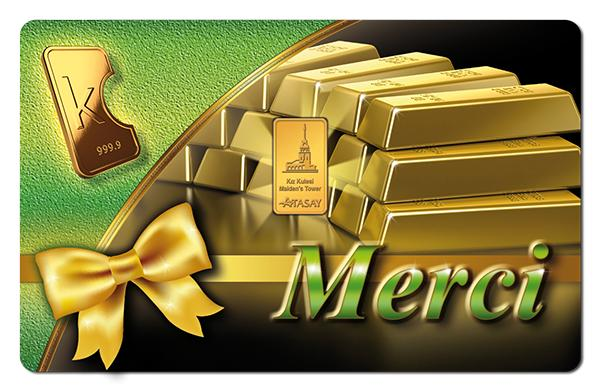 KaratBars | Gold Gift Card - Merci